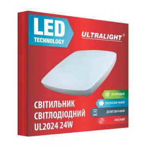 Настенный LED светильник UL 2024 24W