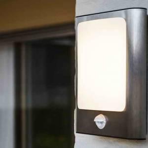 Дизайнерские светильники для сада LUTEC Face 5033002001 (ST033071-PIR-3K)