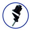Лампа настольная светодиодная DSL051, черная