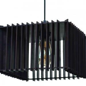 Светильник НББ 1*60ВТ, Е27, 405*405, h 180, арт. 13410 венге