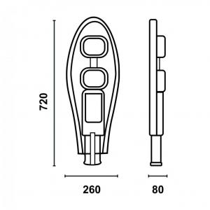 Уличный LED светильник UKL100