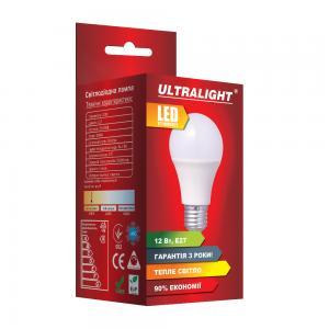 Светодиодная лампа A60-12W-Y-E27