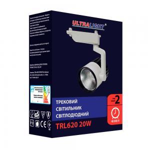 Трековый светильник TRL620, чорно-белый