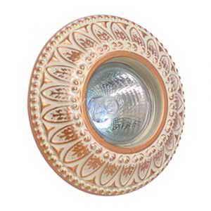 Светильник CL 005 WQD, бежево-золотой