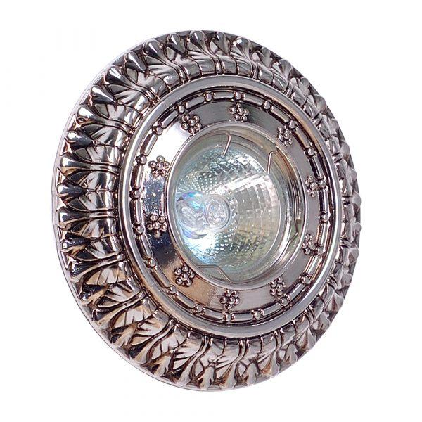 Светильник CL 6012 SVK, серебряно-черный
