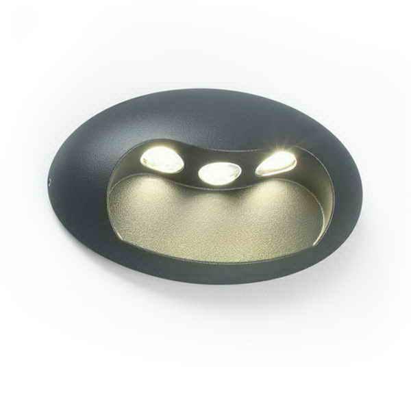 Фасадный светильник LUTEC Eyes 5186002112 (1860L si)