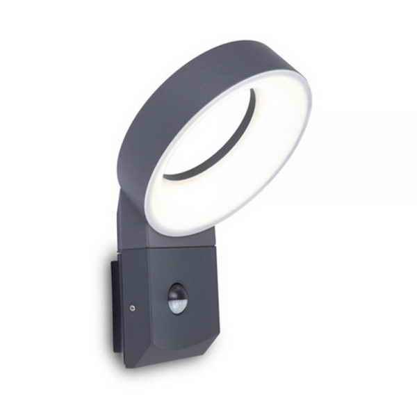 Светильник внешний LUTEC Meridian 5616304118 (6163S-PIR-3K gr)