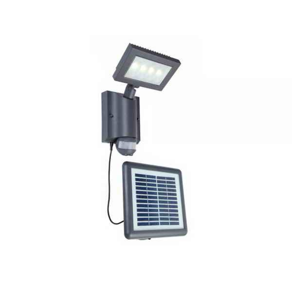 Светильник внешний LUTEC Nevada 6910101118 (6101S-PIR SL gr)