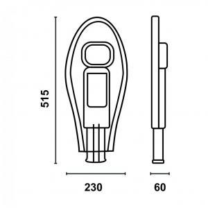 Уличный LED светильник UKL50