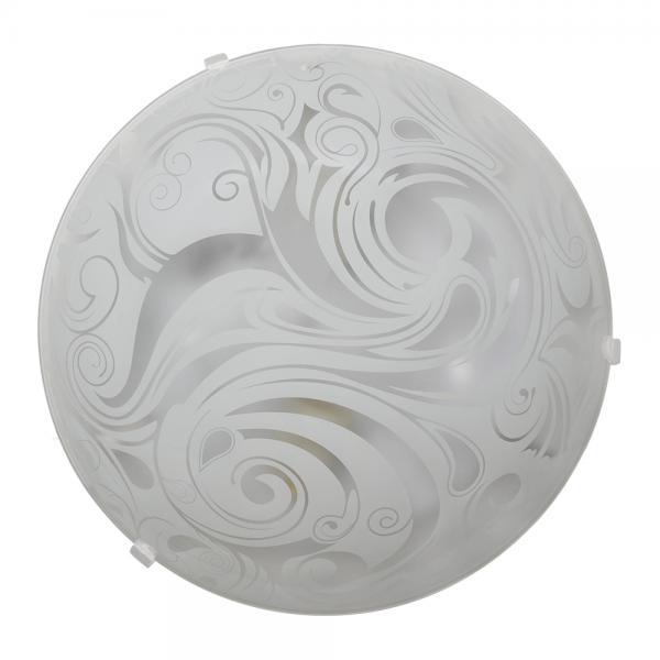 Светильник 'Зеус' 23320-1, белый, ЕКО  в групповой упаковке