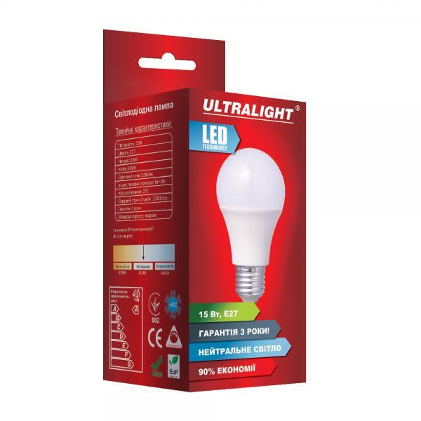 Светодиодная лампа A70-15W-N-E27