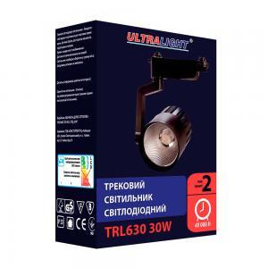 Трековый светильник TRL630, черный