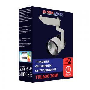 Трековый светильник TRL630, черно-белый