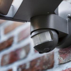 Светильник внешний LUTEC 5614404118 (6144S-1-PIR gr) Mini Ledspot