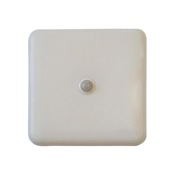 Настенный LED светильник UL 3020 КВ 20W квадрат с датчиком движения