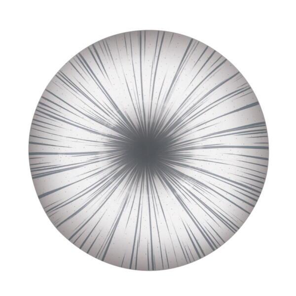Светильник светодиодный 25395-04 Промінь d395 36W серый