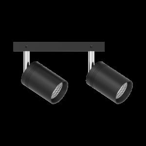 Трековый светильник TRL111 черный(2х10Вт)