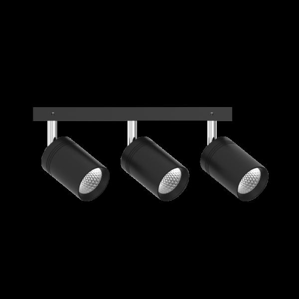 Трековый светильник TRL112 черный(3х10Вт)